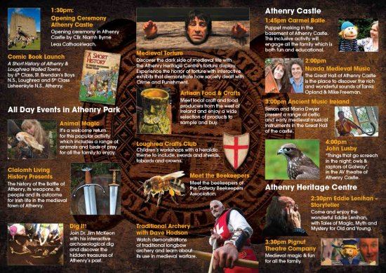 Athenry Walled Towns Day 2014 Brochure