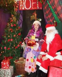 Santa & Mrs Clause in the Athenry Heritage Centre