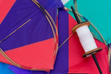 Kite making Workshop