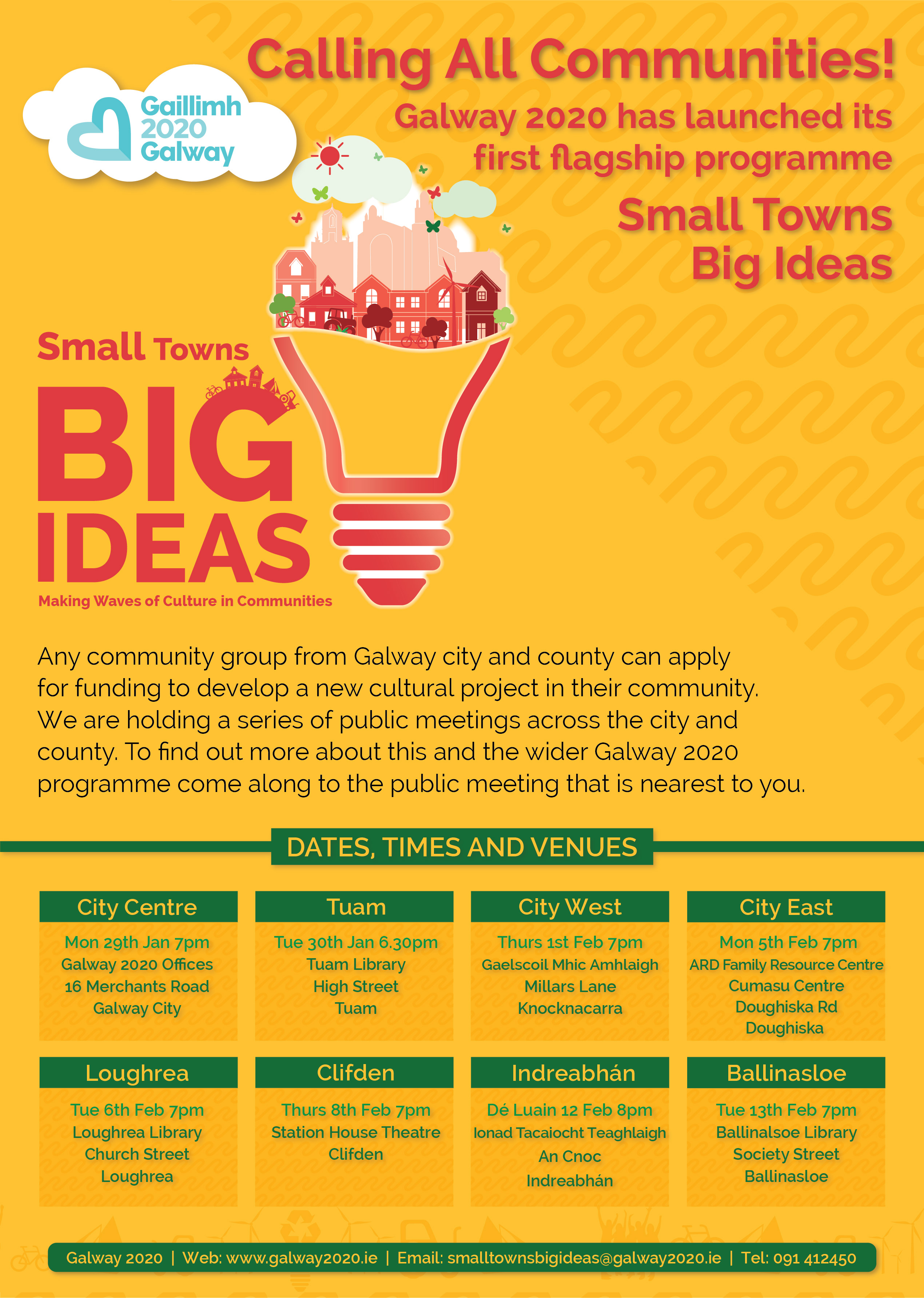 Small Towns Big Ideas