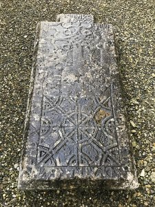 Grave slab detail - athenry dominican priory